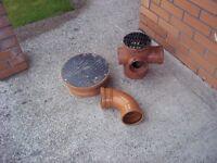 Osma 110mm soil pipe fittings