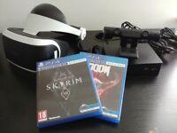 New - PlayStation VR (PSVR) + Camera + SKYRIM VR + DOOM VFR