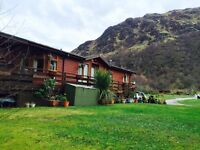 Luxury 3 bedroom Lodge in Loch Eck