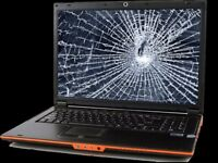ALL LAPTOP only! Broken/Smashed Screen Replacement/Repairs - by Microsoft Qualified Technician