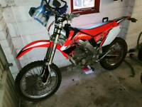 Honda crf250x road legal enduro
