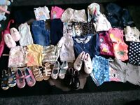 Girls clothing 4-5&5-6yrs footwear summer 10&11 next etc ml5