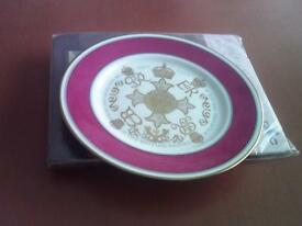Decorative plate-Diamond Jubilee 1917-1977.The most excellent order of the british empire.