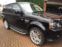 range rover sport automatic fully loaded full service history