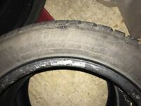 Winter tyres for a Honda Jazz - Hardly Used £20