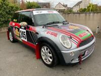 Mini 1600 Rally race RSA car