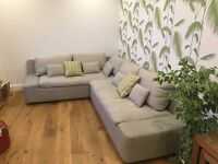 Stylish Habitat Corner Sofa in Excellent Condition