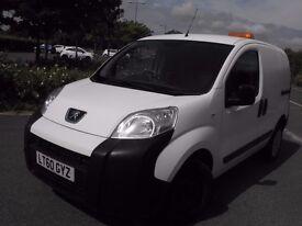 ***2010 Peugeot Bipper 1.4 diesel panel van***