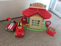 Happyland garage