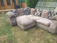 Large corner sofa free for collection