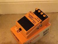 Boss electric guitar pedal - turbo distortion