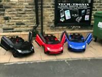 Kids-Ride-On Cars, 12v & 24v, Parental Remote & Self Drive