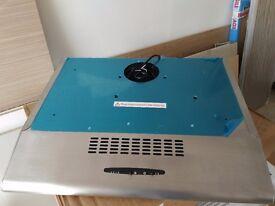Baumatic STD6.2SS 60cm Visor Cooker Hood Extractor Fan - Stainless Steel