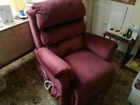 Pride UK made recliner and lift armchair