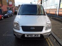 2011 FORD TRANSIT CONNECT TREND 18TDCI LOW MILES F/HISTORY EURO5 ELECTRIC PACK YEAR MOT SILVER MET