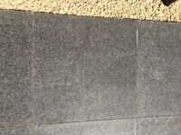 Beautiful natural granite paving slabs 20mm Paving - Sawn all faces and edges, top face flamed