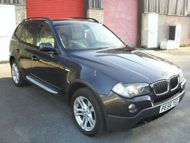 BMW X3 2.0D 20D 4X4 6 SPEED FULL BEIGE LEATHER WITH XENON'S