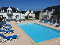 Home for holidays rent with swimming pool near the beach in Belle-Ile-en- Mer (France)