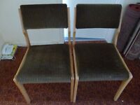 Dining Room Chairs x 2
