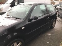 Vw polo 1.4 tdi se diesel 2001 low mileage! Still currently insured!!