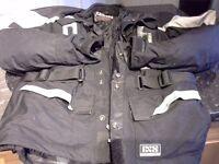 Mens motorcycle jacket, medium