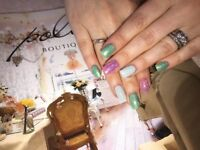 Polished nail salon -Open Sunday and Monday ! Book now ! Nails acrylic and gel