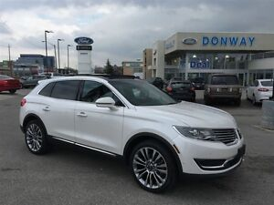 2016 Lincoln MKX AWD 1 OWNER RESERVE PACKAGE