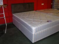King Size Bed. Brand New in Factory Wrapping. Dreamers Candy Orthopaedic Divan Bed. Base & Mattress