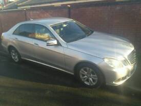 2010 Mercedes e220 cdi auto private hire licensed