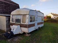 Vintage Retro Caravan