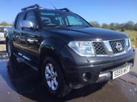 SALE! NO VAT! Bargain Nissan navara Tekna dci, diesel 4x4, 4x new tyres, full service, long MOT