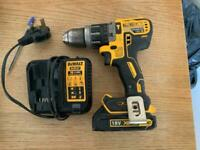 Dewalt DCD996 18v Brushless 3-Speed XRP Combi Drill 2 X 1.3Ah batteries and Charger.
