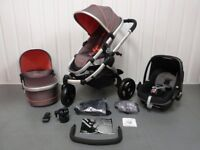 iCandy Peach Jogger in Sneaker. Full Travel system