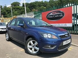 2008 (08 reg) Ford Focus 1.6 Zetec 5dr Hatchback Petrol 5 Speed Manual Low Miles 2 Owners!