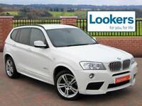 BMW X3 XDRIVE30D M SPORT (white) 2013-09-01