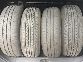 Corsa D steel wheels with tyres x 4 185/70/r14