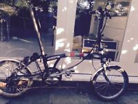 Brompton Superlight Titanium S6L - X Folding Bike - High Spec.