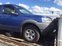 Land Rover freelander diesel petrol jeep spare parts available