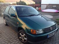 VW Polo for sale (private) with 5 months MOT, cheap insurance. To be sold quick!