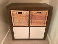 x2 Ikea Shelving Unit with Doors