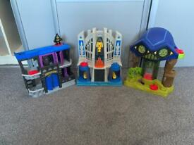 Superhero playcentres
