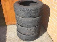4 x 215/55/R16 97W Tyres
