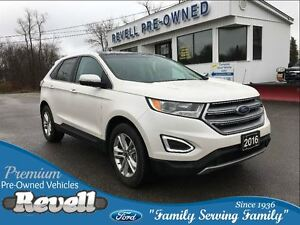 2016 Ford Edge SEL AWD  *Moonroof  Leather  Nav