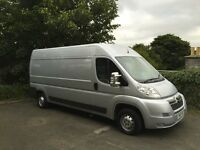 special edition 2010 Citroen relay lwb fully loaded with every extra not another like it in scotland