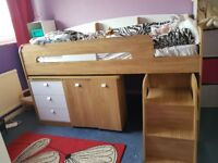 Mid sleeper and built in desk
