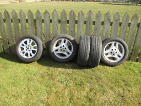 Landrover 2006 Alloy wheels & Tyres x 5 - A real bargain