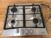 LAMONA 600MM GAS HOB.CATERERS SPEC,HEAVY DUTY IRONS. IMMACULATE