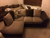 L shape couch, sofa perfect condition