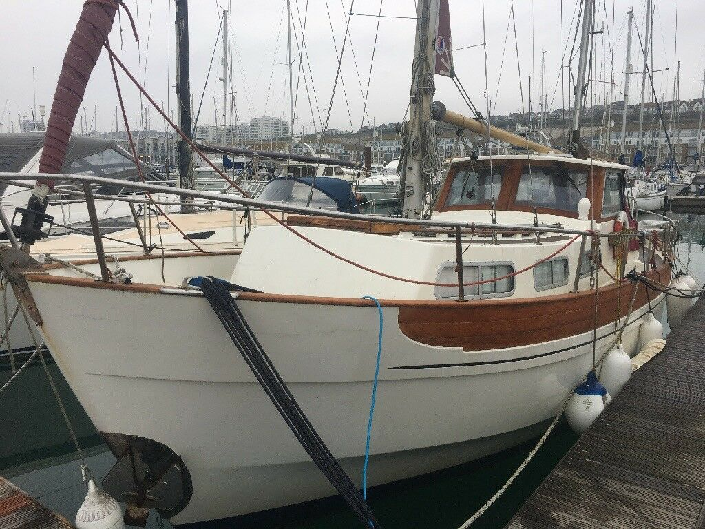 Live Aboard Boat Moored In Brighton Marina For Sale Coaster 33 Motor Sailer In Brighton East Sussex Gumtree