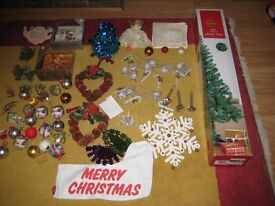A Selection Of Christmas Decorations £28.00 ono